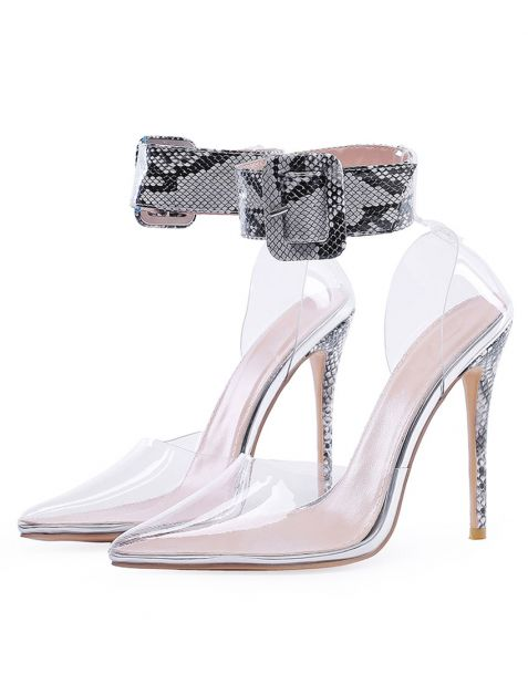 Lahaina - Fashion Stilettos Ankle Strap High Heels Pumps